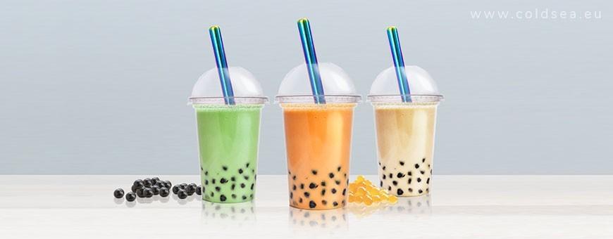 Glass & metal bubble tea straws for popping boba | Coldsea.eu