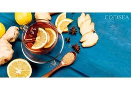 Napar z imbiru - rozgrzewa i leczy